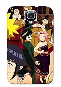Durable Defender Case For Galaxy S4 Tpu Cover(cartoon Network Ete Erro Na Hora De Exibir Naruto Cartoon Zaum) by Maris's Diary