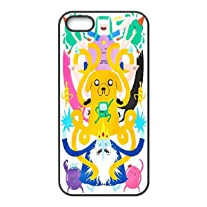Diy Phone Cover Adventure Time for iPhone 5, 5S WEQ960016