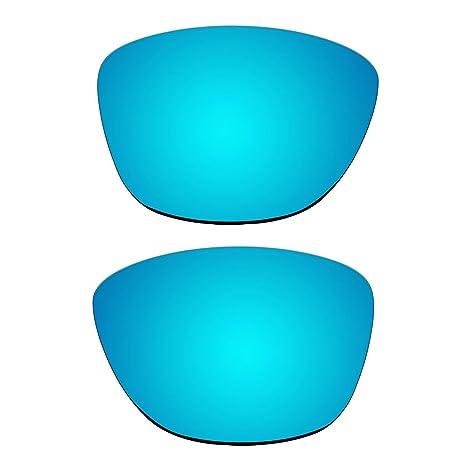 4b7b42552a Repuesto Ice Blue Lentes polarizadas para Oakley Jupiter – Gafas de sol (no  fit Jupiter