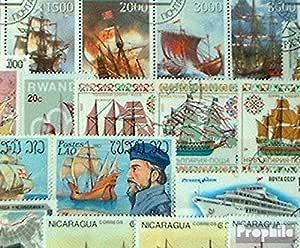 Prophila Collection Motivos 50 Diferentes de Barcos y Barcos Sellos (Sellos para los coleccionistas) Marinero: Amazon.es: Juguetes y juegos