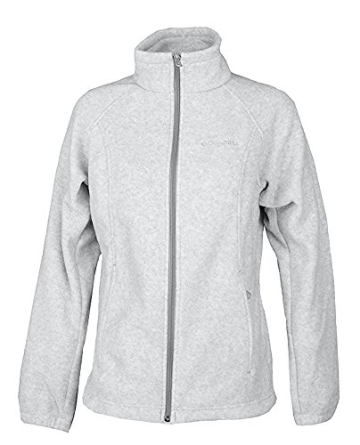 Columbia 1 Light - Columbia Sportswear Women's Plus Sawyer Rapids 2.0 Fleece Full Zip Jacket Light Grey (1X)
