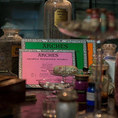 """Arches Watercolor Block, Cold Press 9""""X12"""","""