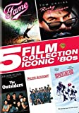 5 Film Collection: Iconic '80s (Spies Like Us / Fame / The Outsiders / Police Academy / Risky Business)