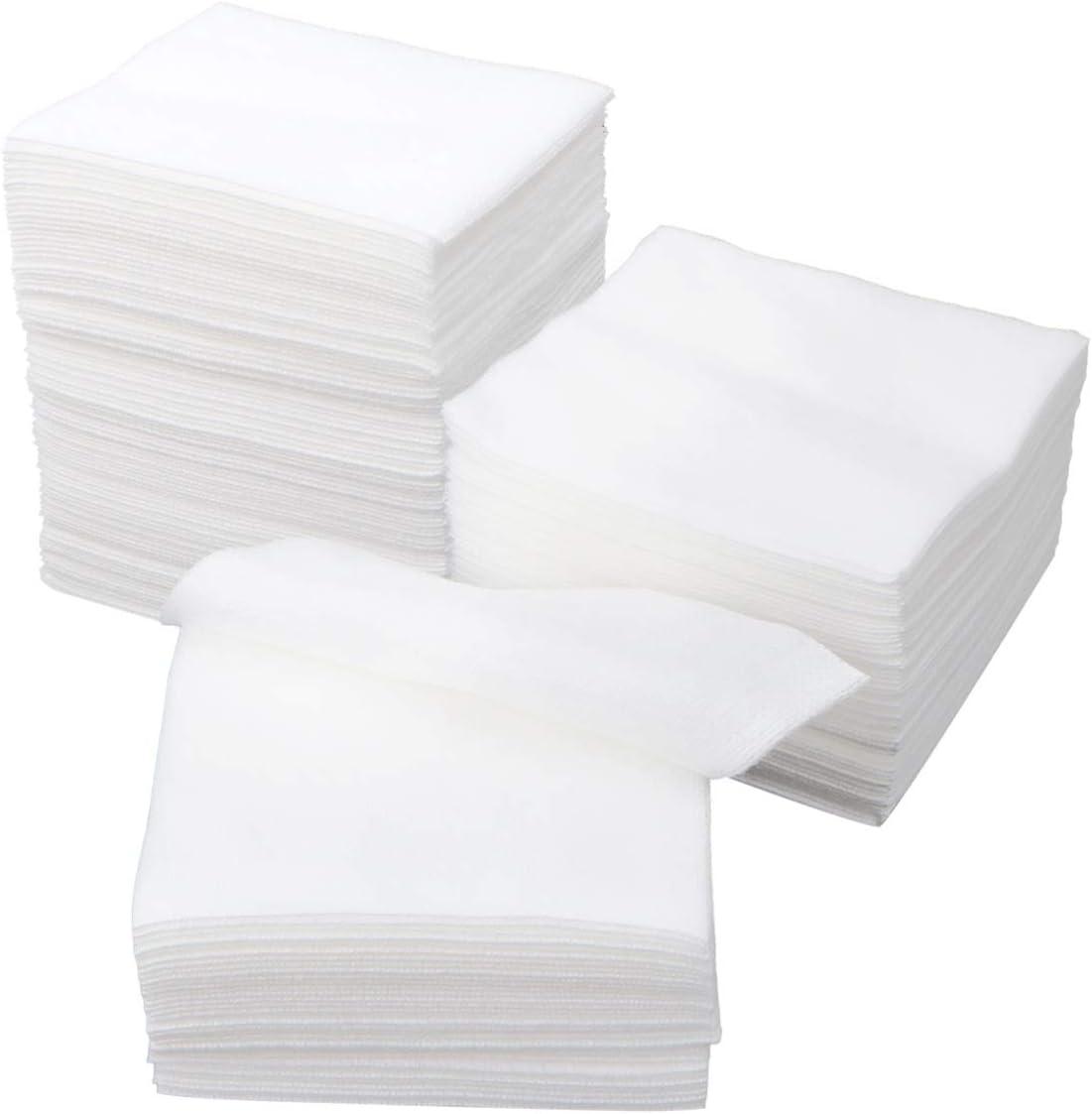 ROSENICE Esponja de gasa no tejida médica usada para el cuidado de la herida Suministros de primeros auxilios Suministros médicos 100pcs