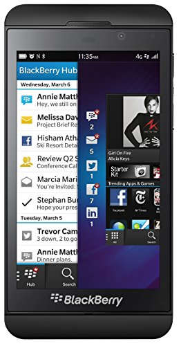 Blackberry Z10 16GB OS 10 GSM Unlocked Smartphone - Black
