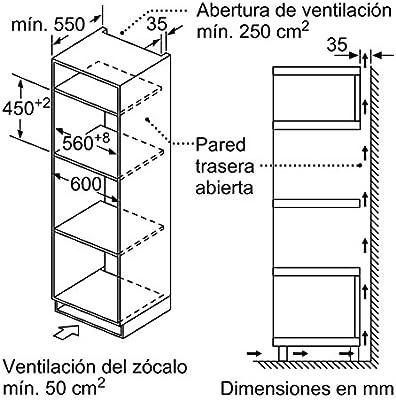 Balay 3CW5178A0 - Horno (Pequeño, Horno eléctrico, 44 L, 44 L ...