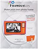 Framous Kits as Seen on TV Framous Plastic Canvas Kit, 7 by 47-Inch, Orange