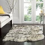 Safavieh Sheep Skin Collection SHS121E Handmade