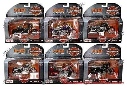 Amazon.com: NEW 1:18 MAISTO MOTORCYCLES HARLEY DAVIDSON COLLECTION