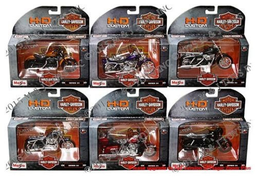 die cast motorcycles 1 6 - 9