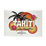 """CafePress - Greetings From Tahiti - Rectangle Magnet, 2""""x3"""" Refrigerator Magnet"""