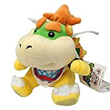 super mario plush toys bowser - Bowser Jr. Plush 7'' - Stuffed Toy 7 Inches Tall (discontinued by manufacturer)