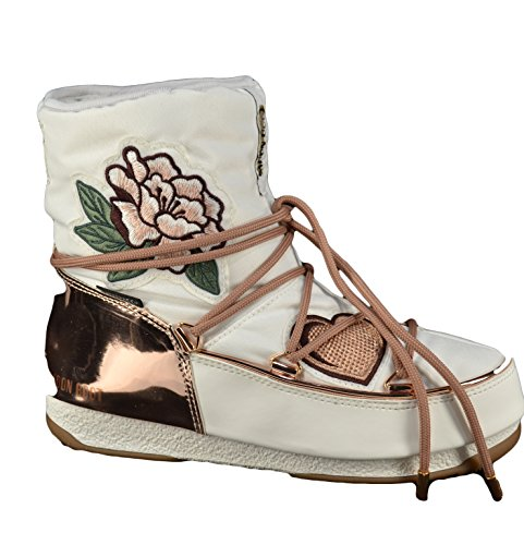 Stiefeletten Damen Bianco Weiß Moon Boot amp; Stiefel xRFI5vZnwq