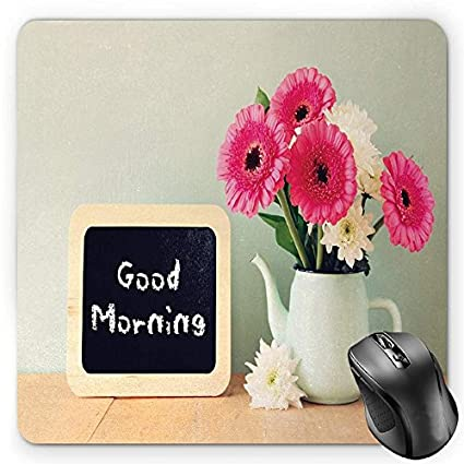 Amazon.com : BGLKCS Quote Mouse Pad, Blackboard with The Phrase Good on flower decoration, flower gift, flower coloring pages, flower pot, flower stand, flower tissue box cover, flower plant, flower bouquet, flower store, flower crystal, flower painting, flower basket, flower decor, flower punch set, flower container, flower dinnerware set, flower window, flower arrangements, flower trash can, flower sign,