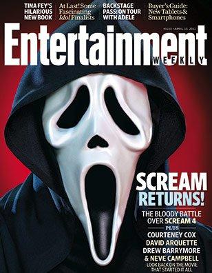 Read Online Entertainment Weekly #1150 April 15, 2011 Scream Returns pdf epub