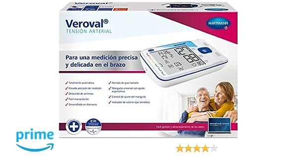 TENSIOMETRO DE BRAZO VEROVAL PRESION ARTERIAL: Amazon.es: Salud y cuidado personal