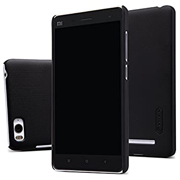 ELTD XIAOMI MI4C Funda, Slim Matte Series funda carcasa case para XIAOMI MI4C + 1 protector pantalla, Negro