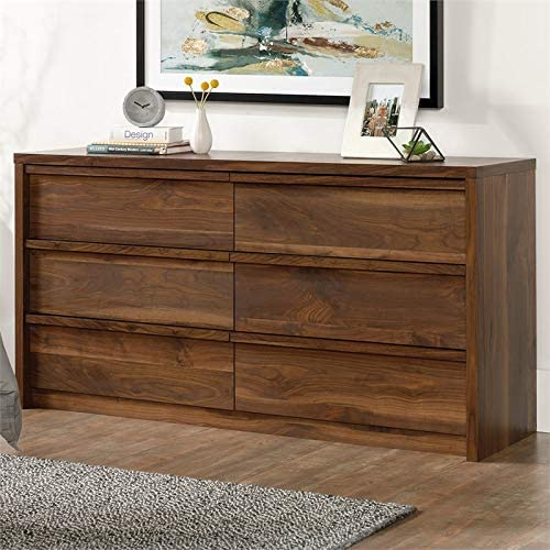 Pemberly Row Modern 6 Drawer Double Bedroom Dresser