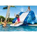 NEW Inflatable Water Slide Play Center with Sprayer, 131'' x 81'' x 46''