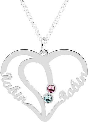 double collier coeur