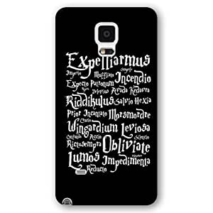 UniqueBox - Customized Personalized Black Frosted Samsung Galaxy Note 4 Case, Harry Potter Samsung Galaxy Note 4 case, Harry Potter Hogwarts Marauders Map Samsung Galaxy Note 4 case, Only fit Samsung Galaxy Note 4