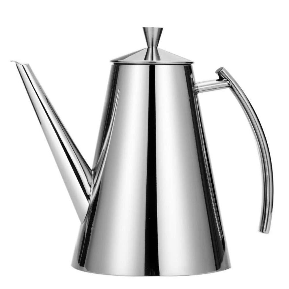 DEYE Stainless Steel Olive Oil Sprayer Dispenser Water Pots Vinegar Honey Bottles Leak Proof Can for Cooking/Restaurant,900ML by DEYE