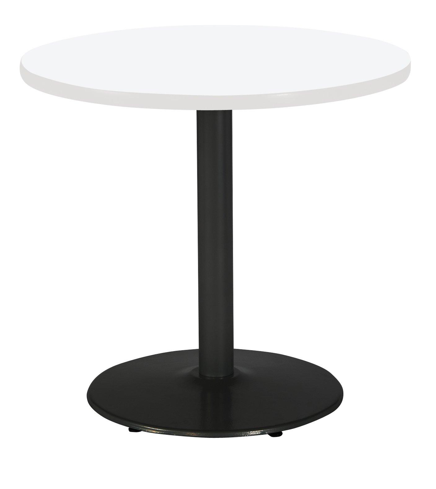 KFI Seating T36RD-B1922-BK-D354 Mode Multipurpose Table, 29'' H x 36'' W x 36'' D, Designer White