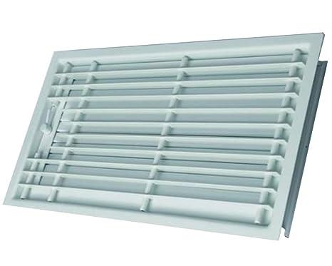 Rejilla de techo rejilla de horno blanco 45 x 15: Amazon.es: Hogar