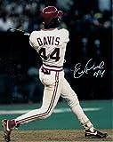 Eric Davis Autographed Cincinnati Reds 8x10 Photo