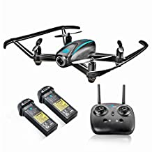 Altair #AA108 Wifi FPV Camera Drone, RC Quadcopter w/ 720p HD Camera, 6 Gyro, VR Compatible, Headless Mode, Altitude Hold, 3 Flight Skill Modes, Easy to Fly Drone, Bonus Battery.