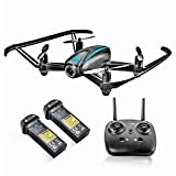 Image of Altair #AA108 Camera Drone, RC Quadcopter w/ 720p HD FPV Camera VR, Headless Mode, Altitude Hold, 3 Skill Modes, Great for Kids & Beginners, Easy Fly Indoor Drone, 2 Batteries