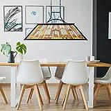 Wellmet Tiffany-Style Pool Table Light, 3-Light DIY