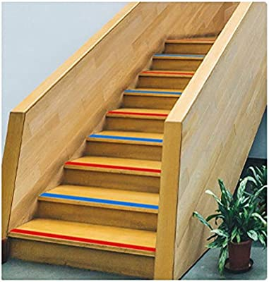 Cinta Antideslizante Suelos Tira Antideslizante (6cm Verde), Adecuado para Interiores T Exteriores, Adecuado para Escaleras, Pisos Planos (Size : 45M): Amazon.es: Hogar