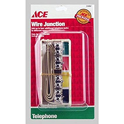 amazon com ace phone junction box 31852 electronics rh amazon com telephone junction box wiring telephone junction box wiring uk
