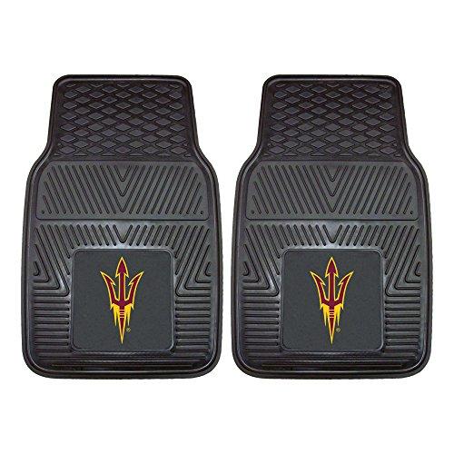 Arizona State Sun Devils Rug - Fanmats 11933 Arizona State University Sun Devils Front Row Vinyl Heavy Duty Car Mat - 2 Piece