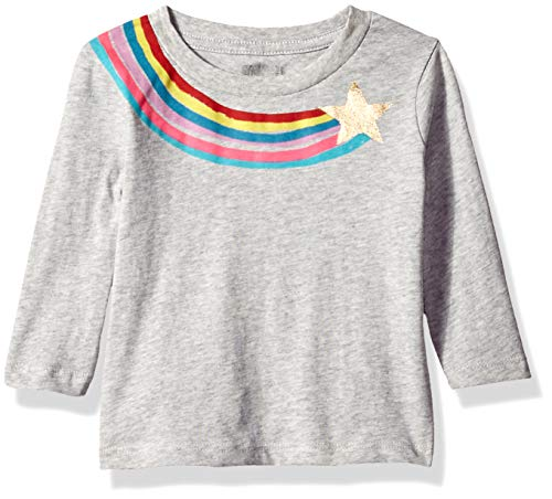 Gymboree Baby Girls Long Sleeve Graphic Tee