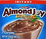 Peter Paul Almond Joy Instant Chocolate Pudding Mix 3.52 Ounces (Pkg of 4)
