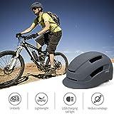 PHZ. Adult Bike Helmet with Rear Light for Urban