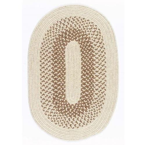 Jackson Oatmeal Rug Rug Size: Oval 7' x 9' - Colonial Mills Jackson Oatmeal