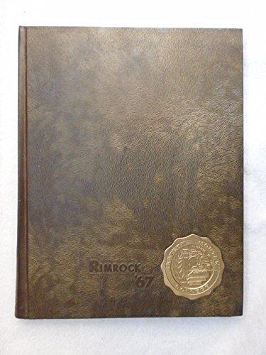 1967 Eastern Montana College (Billings, Montana) 'Rimrock' - Rimrock Billings Montana