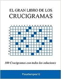 El Gran Libro de los Crucigramas: Amazon.es: Pasatiempos10