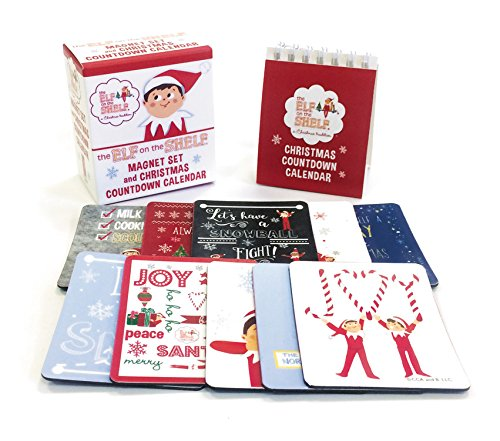 The Elf on the Shelf: Magnet Set and Christmas Countdown Calendar