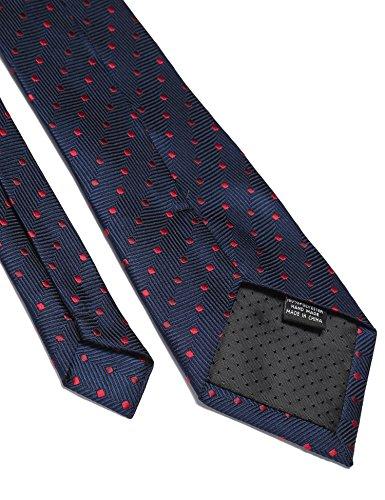 COOFANDY Men's Business Necktie Classic Silk Tie Woven Jacquard Neck Ties by COOFANDY (Image #4)