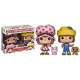 Funko Strawberry Shortcake Funko POP! Animation Strawberry Shortcake & Huckleberry Pie Exclusive Vinyl Figures