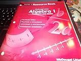 Algebra 1, MCDOUGAL LITTEL, 0618078614