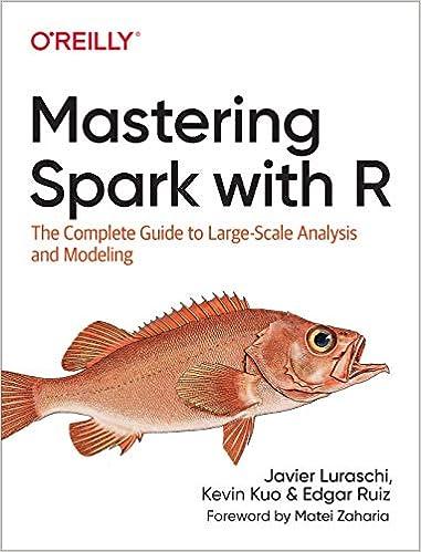 couverture du livre Mastering Spark with R