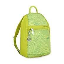Hedgren Vogue Multipurpose Backpack, Women's, One Size (Lines Lime Print)