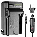 Neewer AC Wall Charger + In-Car Adapter for Sony NP-F550/F750/F960/F330/F570 PA-VBD1 PA-VBD2 Batteries