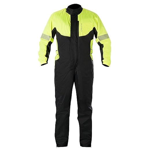 Alpinestars huracán traje impermeable de moto protecciones ...