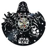 Cheap Creative Star Wars Vinyl Record Clock Bedroom Decoration
